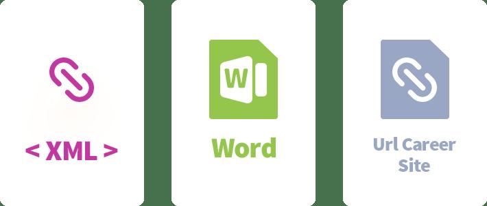 XML Word URL